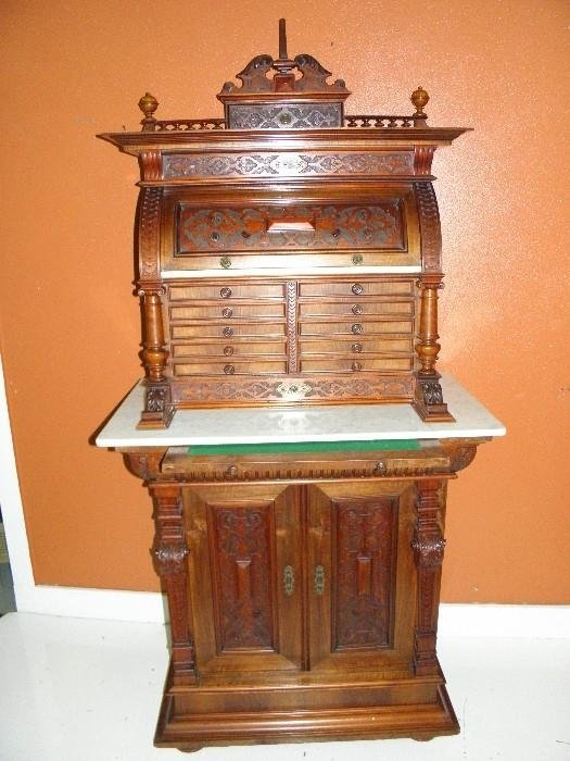 Victorian Antique Dental Cabinet