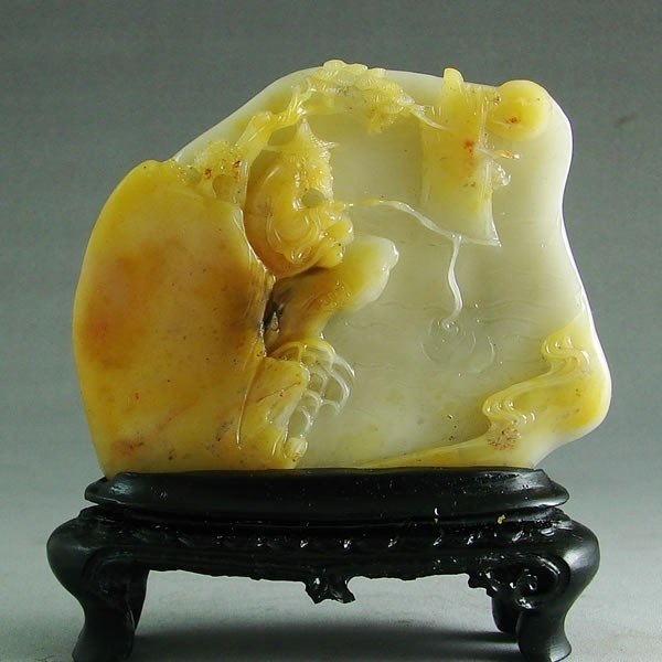 13: A Fine Chinese Soapstone Carving