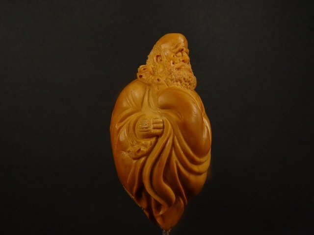 52: A Well Carved Olivary Nucleus Bodhidharma