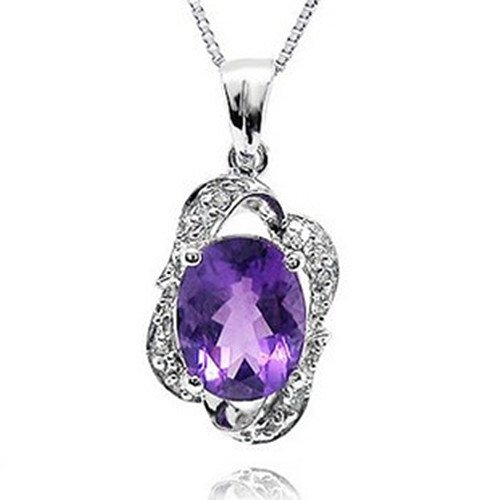 21: Certified 925 Silver Natural Crystal Pendant