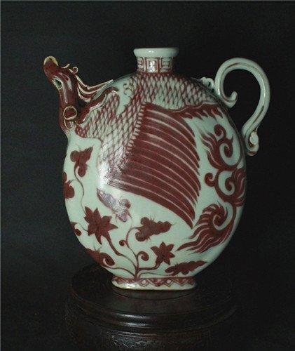 A Yuan Style Teapot