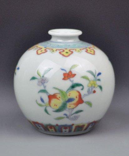 A Fine Doucai Vase