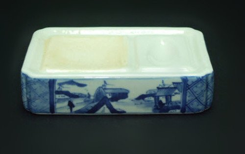 Fine Chinese Blue and White Ink