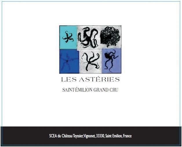 Les Astéries, Saint-Émilion 2009