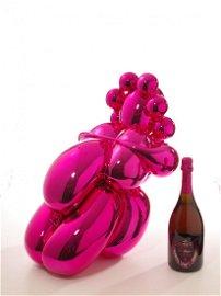Balloon Venus von Jeff Koons für Dom Perignon Rosé2003