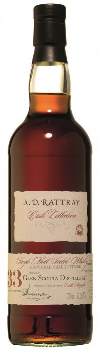 Glen Scotia 33 Years Old A.d. Rattray