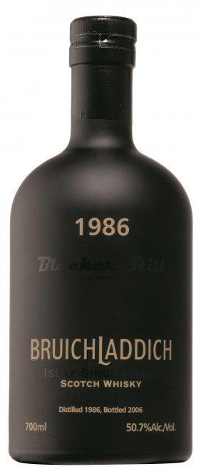 Bruichladdich 1986 20 Years Old Blacker Still