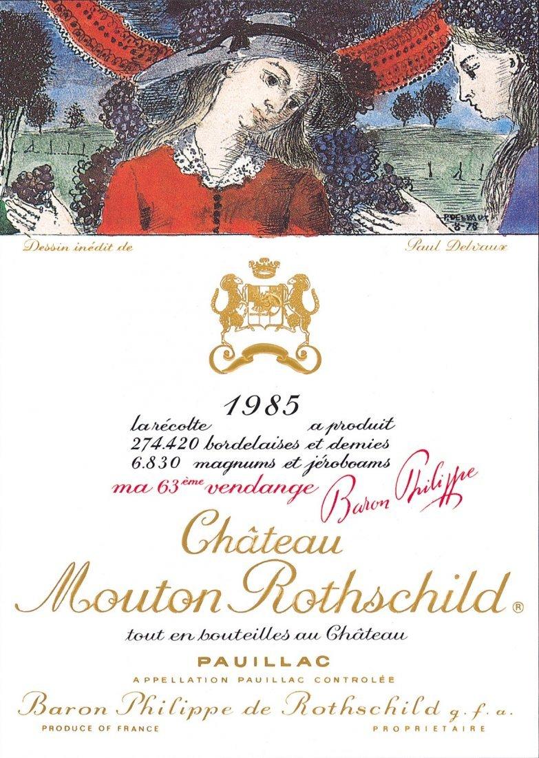 Château Mouton Rothschild 1985