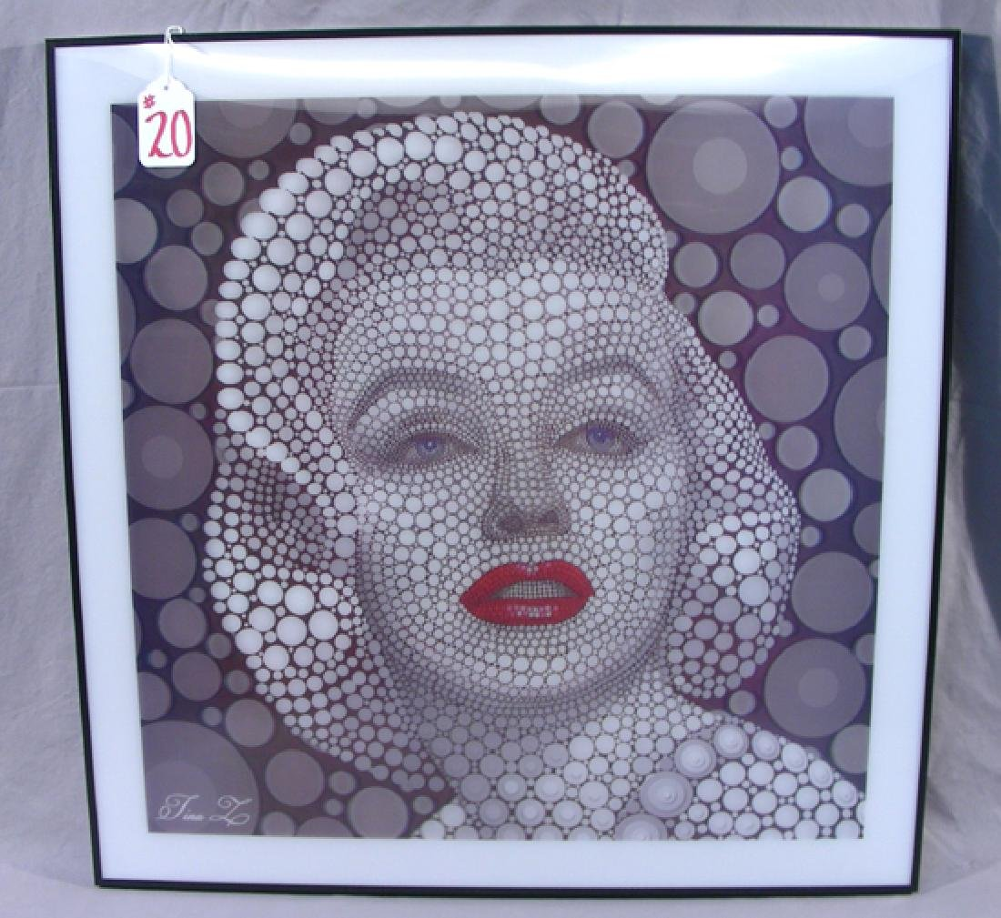 UNUSUAL MARILYN MONROE LENTICULAR PICTURE