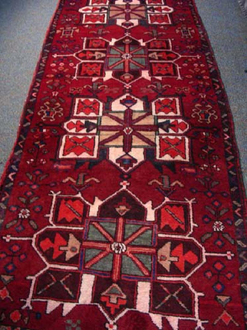 HAND KNOTTED PERSIAN HAMADAN RUNNER