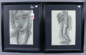 TWO MATISSE LITHOGRAPHS