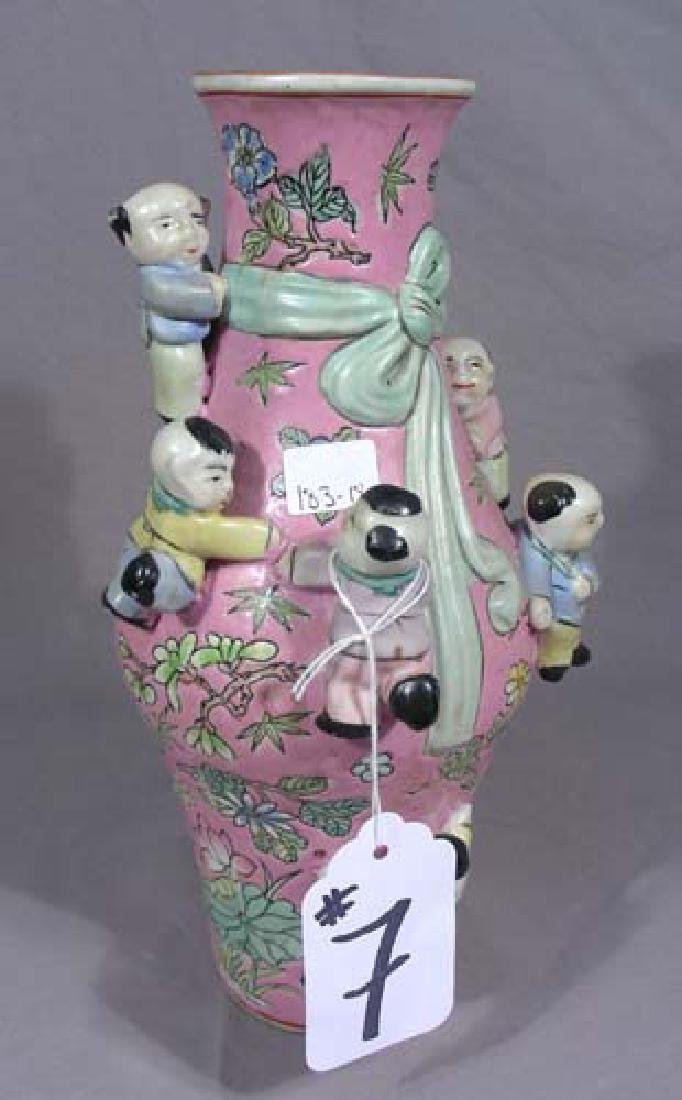 CHINESE PORCELAIN FERTILITY VASE