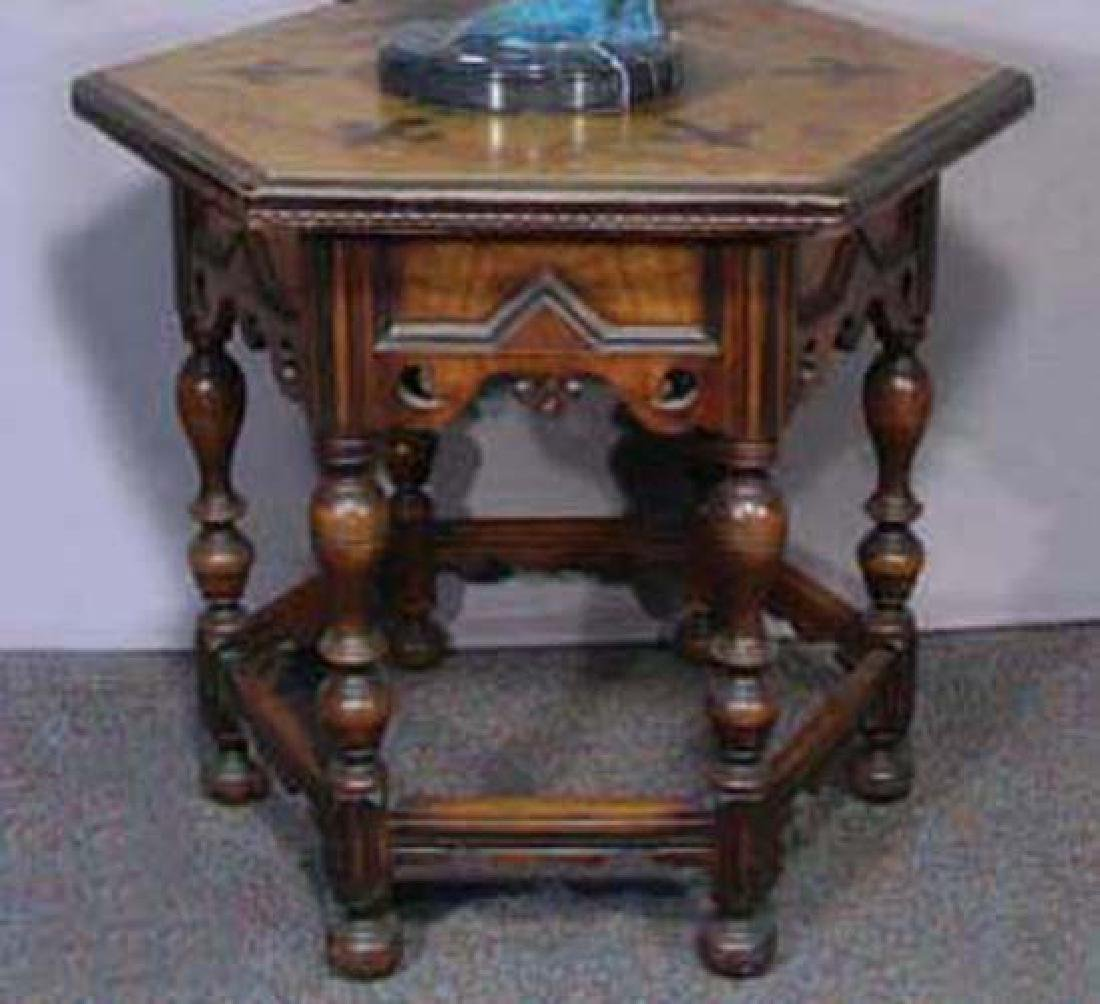 FINE HAND CARVED ANTIQUE SPANISH TABLE
