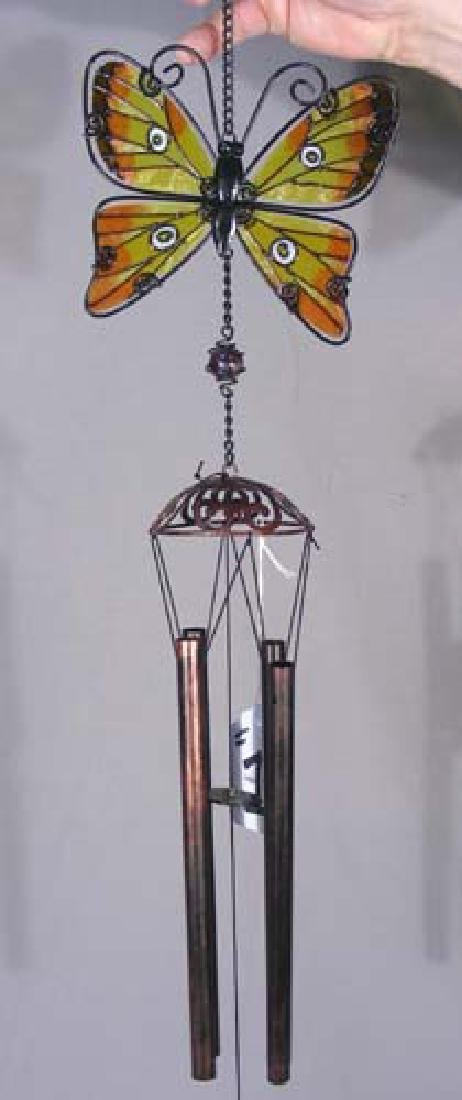 METAL AND GLASS WINDCHIME