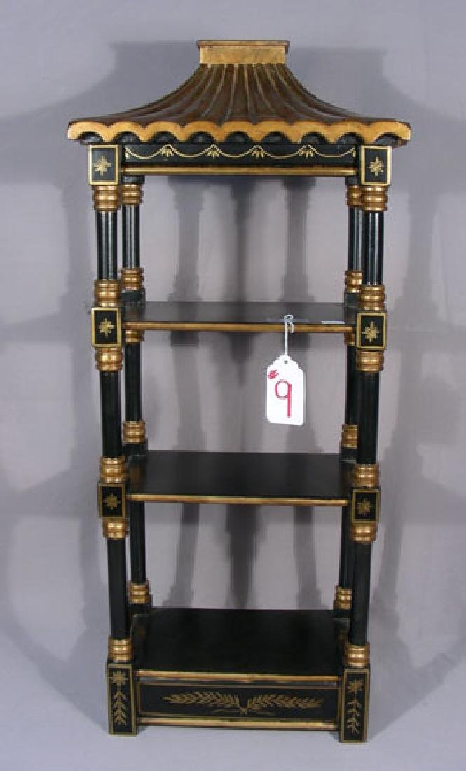 HAND PAINTED ORIENTAL SMALL SCALE CURIO