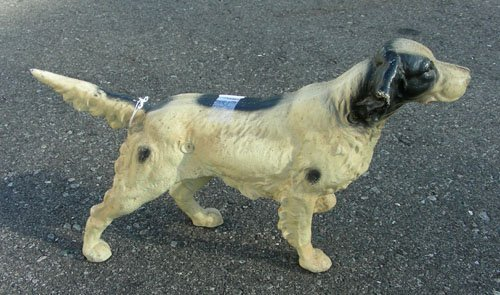 "HEAVY CAST IRON DOG ""POINTER"""