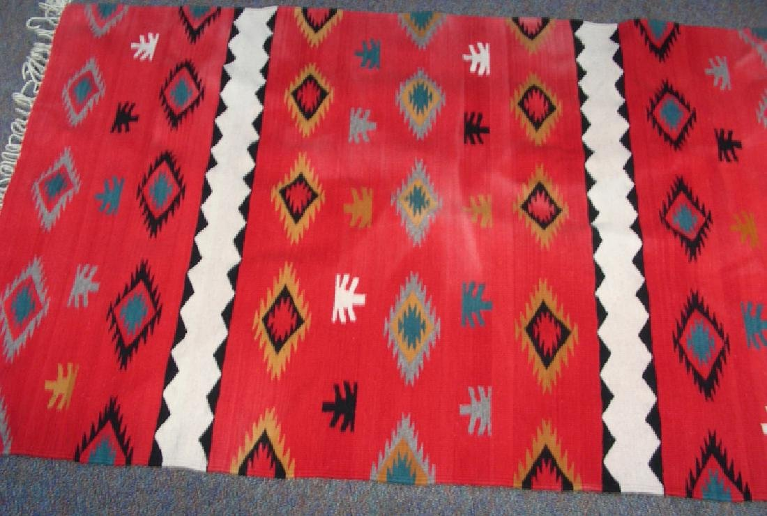 HAND KNOTTED NATIVE AMERICAN RUG