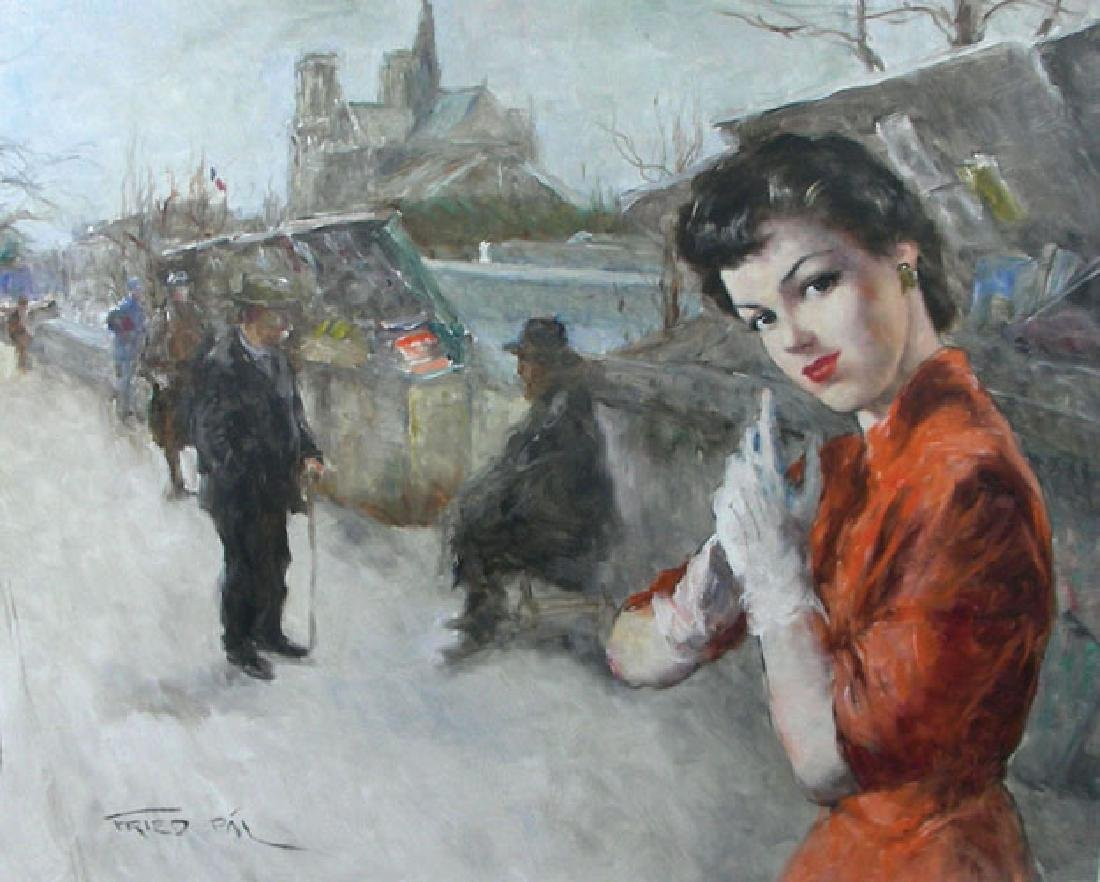 PAL FRIED (1893-1976) HUNGARIAN/ AMERICAN