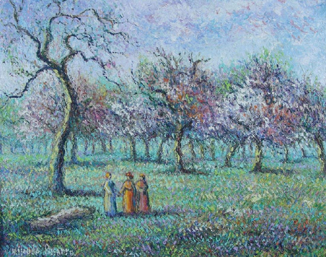 H. CLAUDE PISSARRO (1935-    ) FRENCH