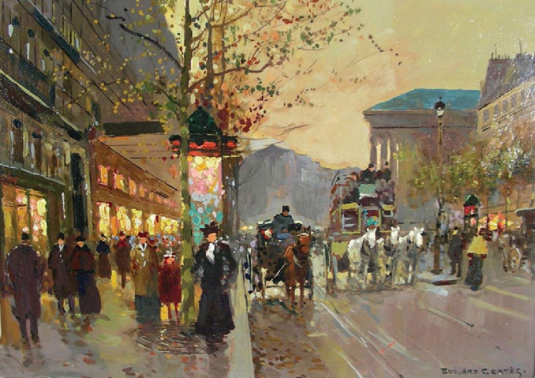 EDOUARD CORTES (1882-1969) FRENCH