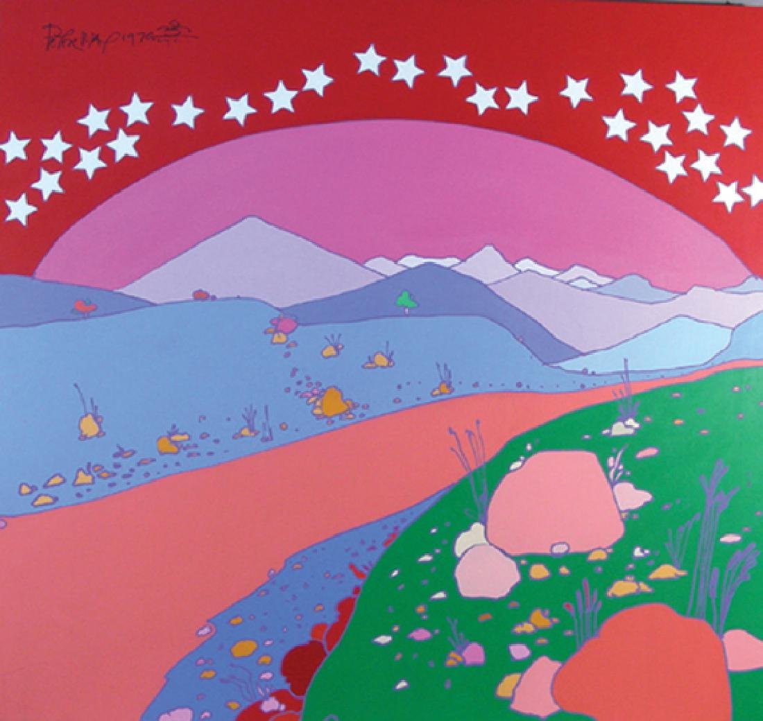 PETER MAX (1937-    ) GERMAN