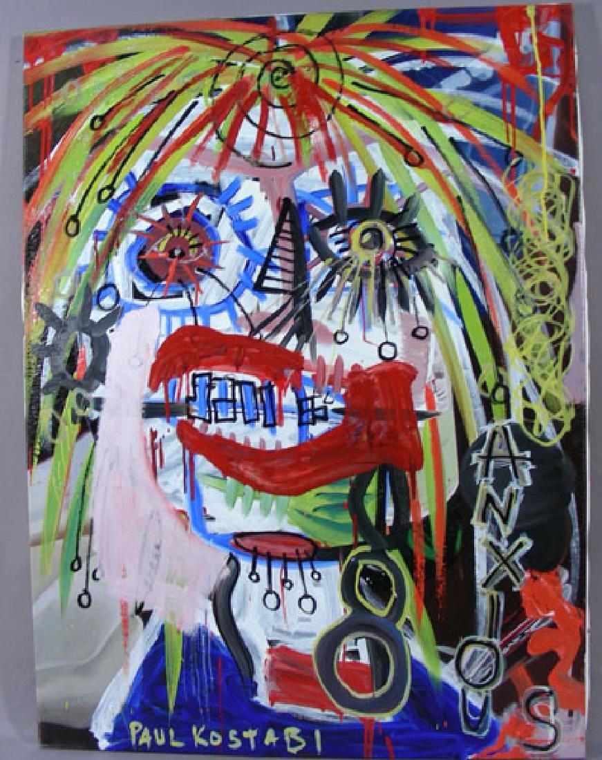 PAUL KOSTABI (1960-    ) AMERICAN