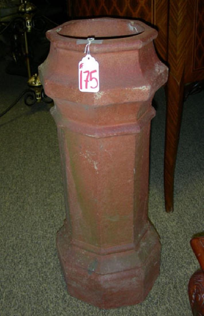 VINTAGE ENGLISH CHIMNEY POT