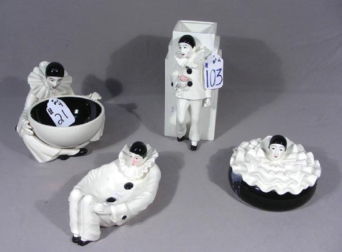 FOUR PIECE GROUP OF IGMA FIGURES