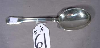 TIFFANY  COMPANY SOLID STERLING SILVER SERVING SPOON