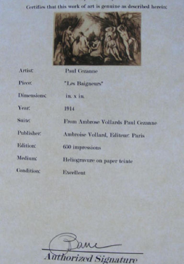PAUL CEZANNE (1838-1906) FRENCH - 3