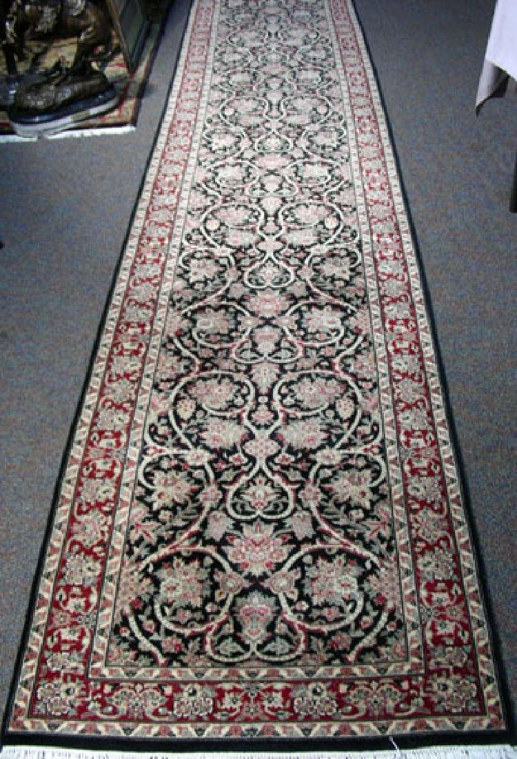 VERY FINE HAND KNOTTED TABRIZ RUNNER
