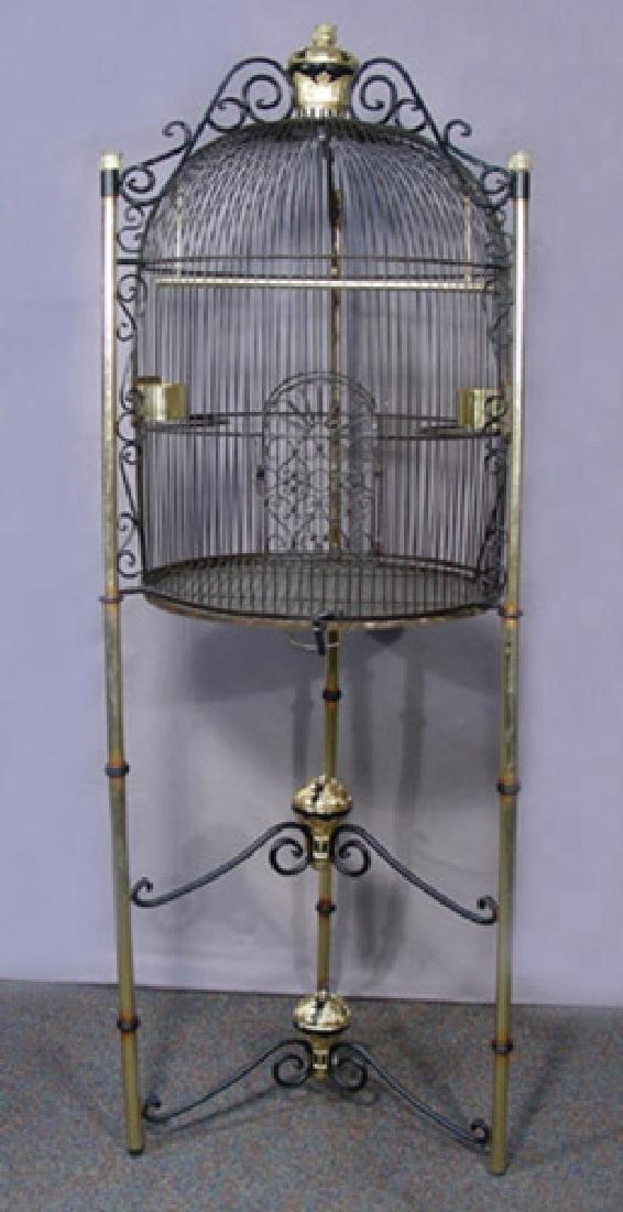 TALL FLOOR BIRD CAGE