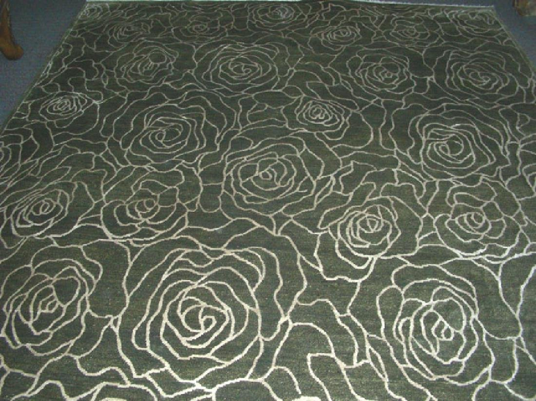 HAND KNOTTED NEPALI AREA RUG