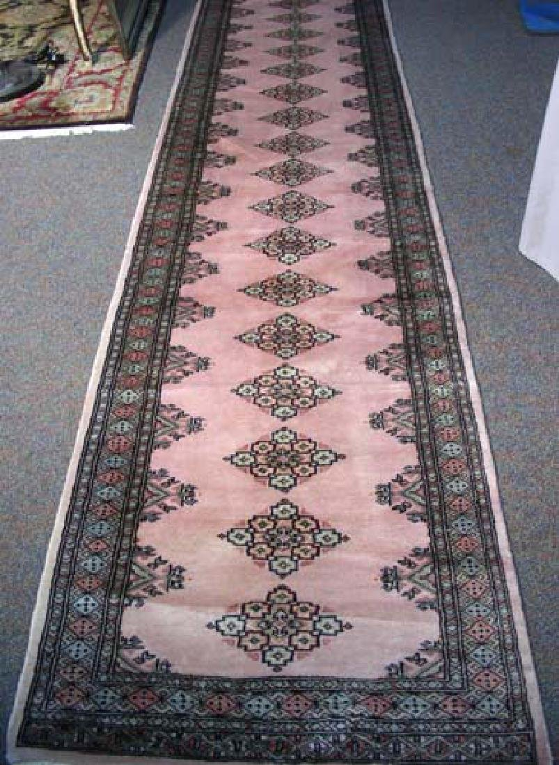 FINE HAND KNOTTED BOKHARA RUNNER