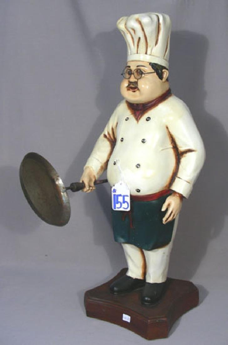 HAND PAINTED COMPOSITION CHEF