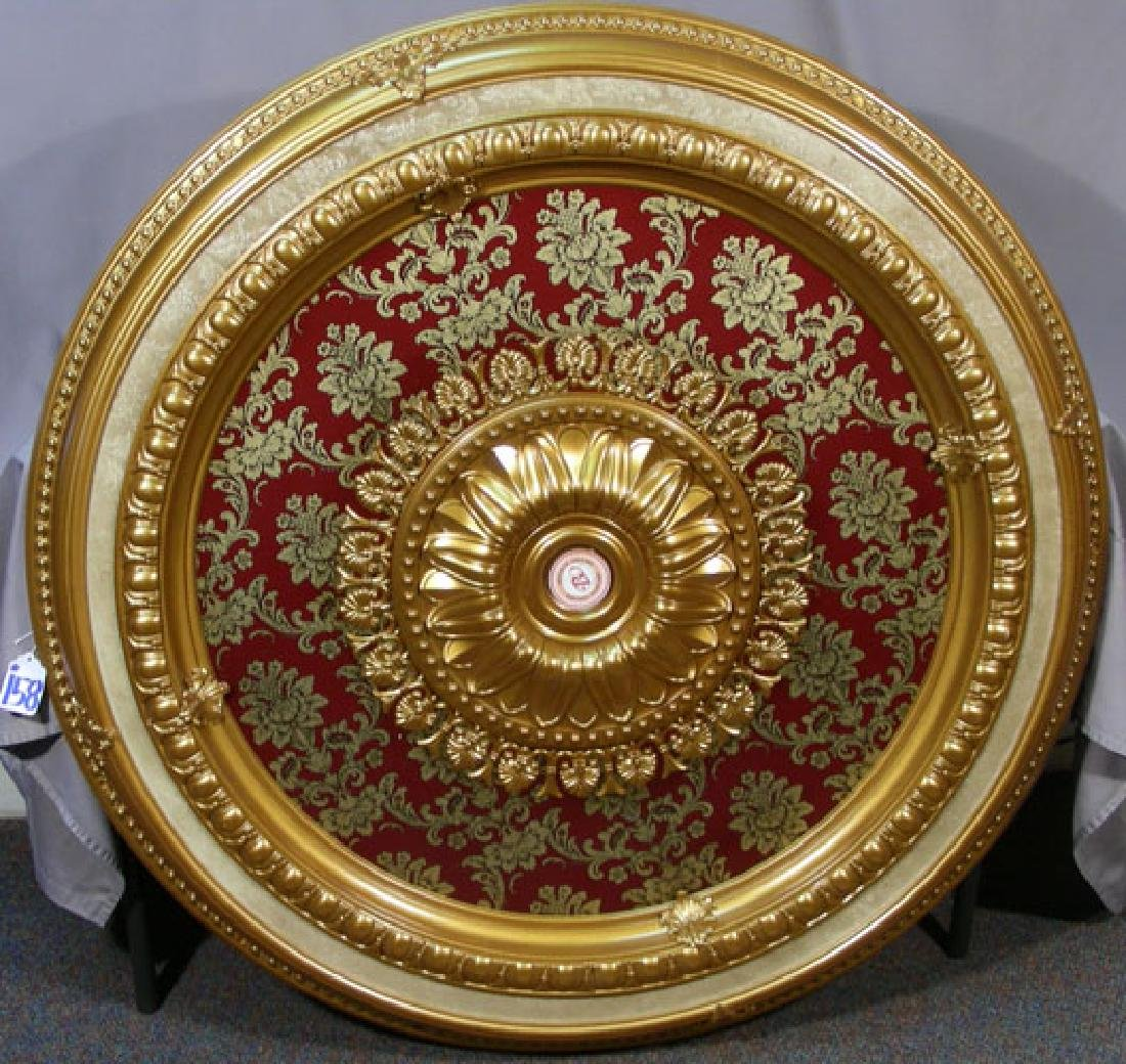 HAND PAINTED COMPOSITION CEILING MEDALLION