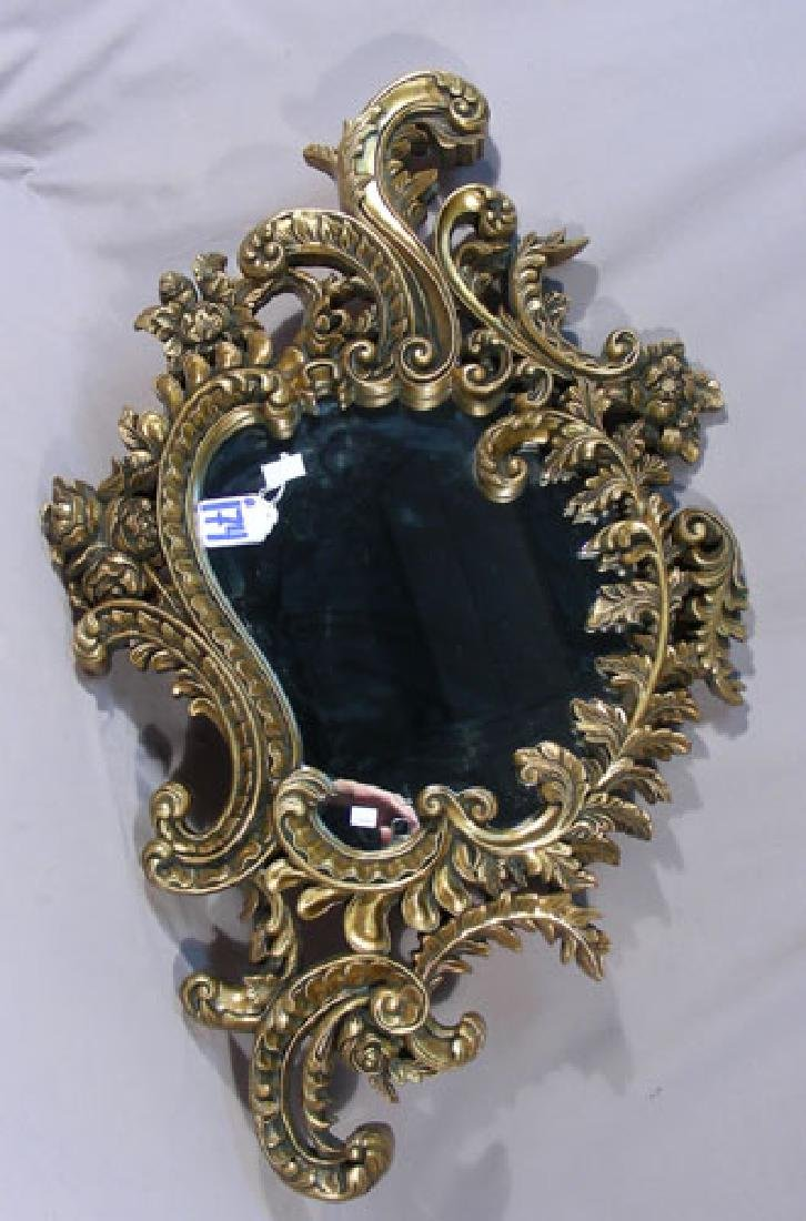 BEAUTIFUL GILT FRAMED MIRROR