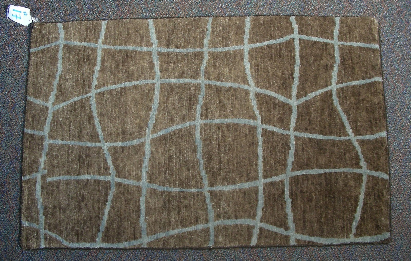 HAND KNOTTED MODERN 2 X 3 RUG