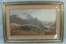 CHARLES SAUNDERS (1855-1915) BRITISH