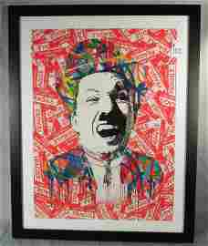 THIERRY GUETTA (1966-    ) FRENCH (MR. BRAINWASH)