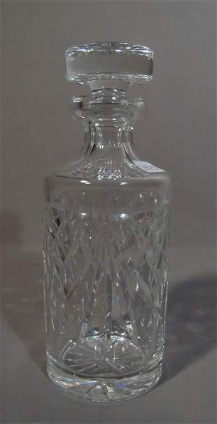 WATERFORD FULL LEAD CUT CRYSTAL DECANTER