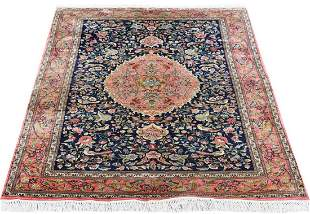 VERY FINE HAND KNOTTED CHINESE SILK RUG