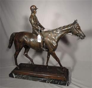 "ISIDORE BONHEUR (1827-1901) FRENCH - AFTER ""JOCKEY ON"
