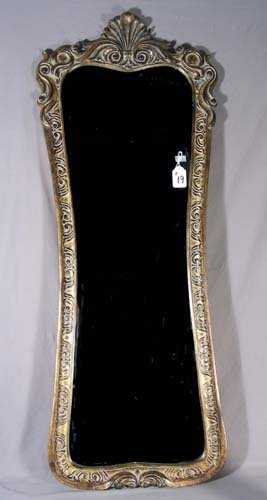 19: GILT MIRROR WITH BEVELED GLASS