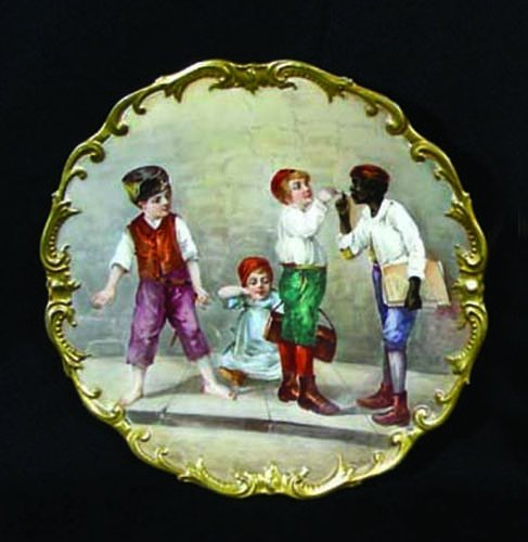 59: FRENCH PORCELIAN LIMOGES PLATE