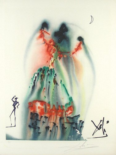 69: SALVADOR DALI (1904-1989) SPANISH - LIMITED EDITION