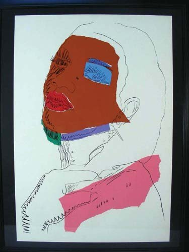95: ANDY WARHOL (1928-1987) AMERICAN - VERY RARE LIMITE