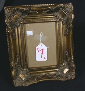 GILT PHOTO FRAME