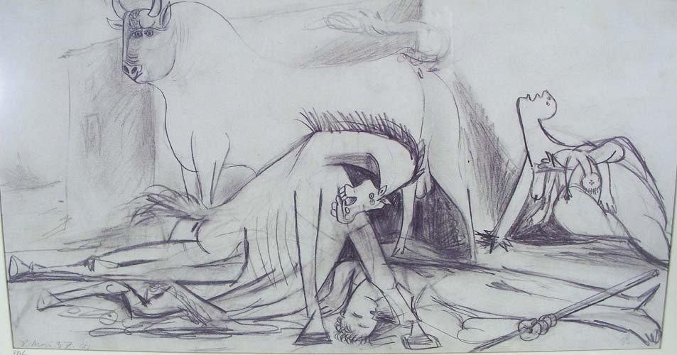 15: PABLO PICASSO (1881-1973) SPANISH - OFFSET LITHOGRA
