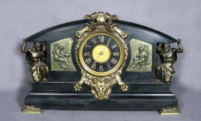 100: OUTSTANDING 19TH CENTURY FRENCH BRONZE AND MARBLE